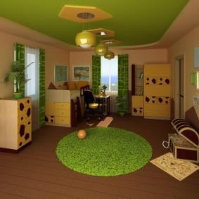 salle de jeux chambre d'enfants photo intérieure