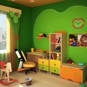 salle de jeux enfants photo intérieur