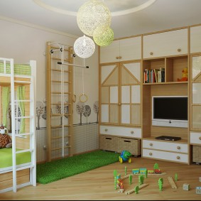 salle de jeux chambre d'enfants idées intérieures