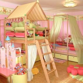 décoration de salle de jeux pour enfants