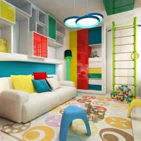 salle de jeux chambre d'enfants photo design