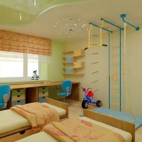 salle de jeux chambre d'enfant options de photo