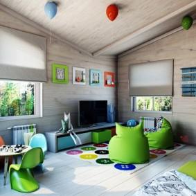 options d'idées de salle de jeux pour enfants