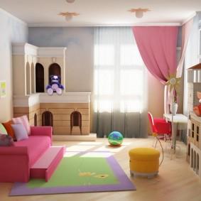 salle de jeux chambre d'enfants idées de photos