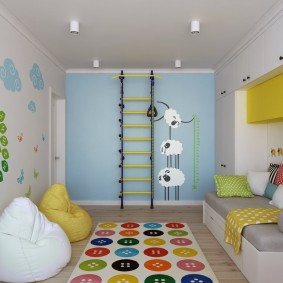 conception de salle de jeux pour enfants