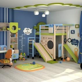 salle de jeux chambre d'enfant design photo