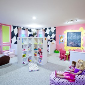 idées de conception de salle de jeux pour enfants