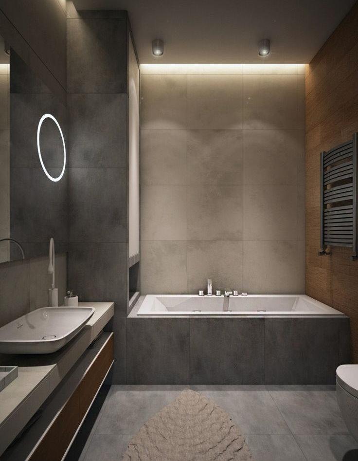 Carrelage gris style minimaliste
