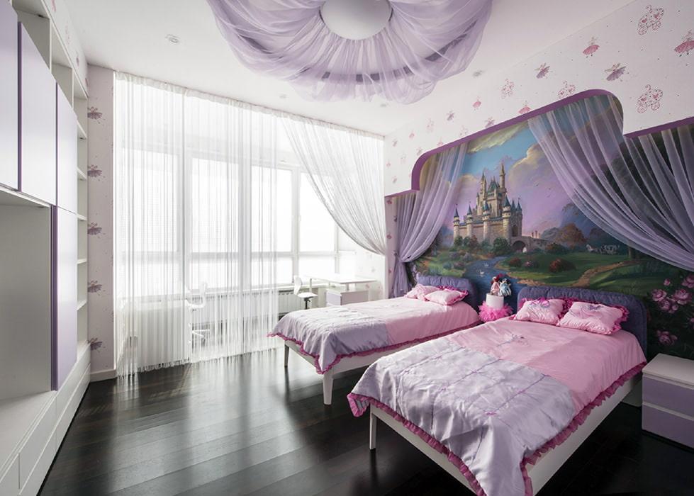 Sélection de papiers peints pour une chambre pour jeunes filles