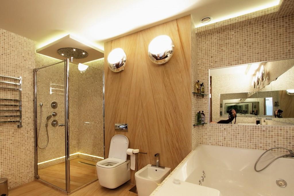 Éclairage correct de la salle de bain