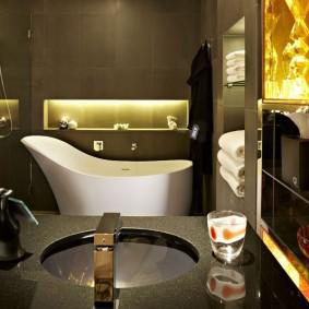 photo de décoration de salle de bain moderne