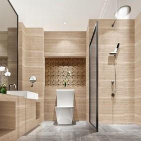 intérieur d'idées de salle de bain moderne
