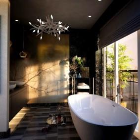 idées d'intérieur de salle de bain moderne