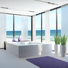 décor de salle de bain moderne