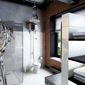 idées de photo de salle de bain moderne