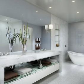 options de salle de bain modernes