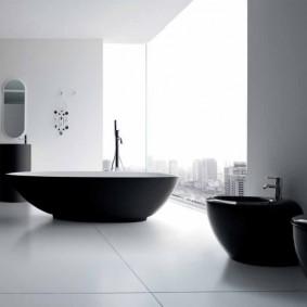 idées d'options de salle de bain moderne