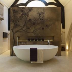 types de conception de salle de bains modernes