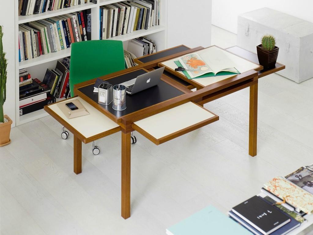 Transformer le bureau dans le salon