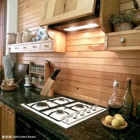 doublure dans la photo de décor de cuisine
