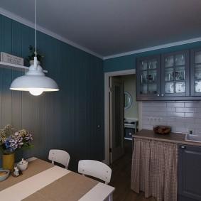 doublure dans le décor photo de la cuisine