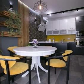 doublant les idées de décoration de cuisine