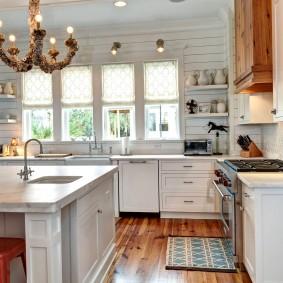 aligner les idées de conception de cuisine