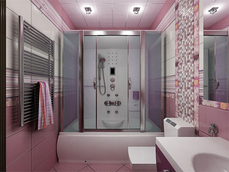 phòng tắm trong ánh sáng Khrushchev