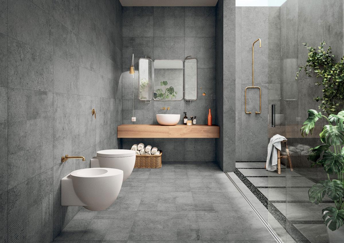 2019 salle de bain en béton
