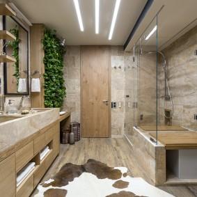 salle de bain style éco 2019