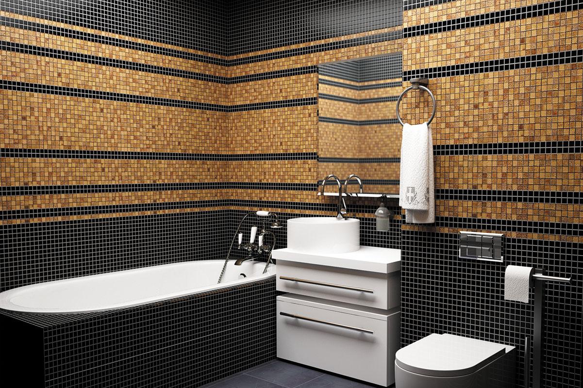 Salle de bain mosaïque 2019