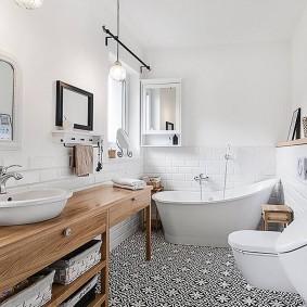 Salle de bain 2019 style scandinave