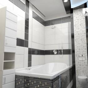 phòng tắm trong thiết kế ý tưởng Khrushchev
