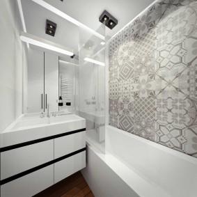 phòng tắm trong trang trí Khrushchev