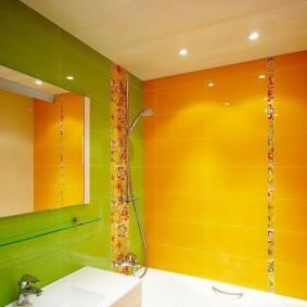phòng tắm ở Khrushchev trang trí ảnh