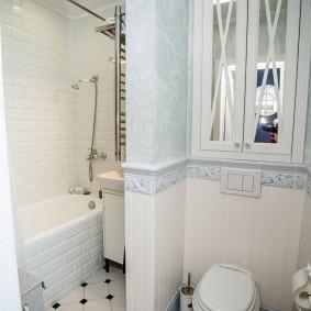 phòng tắm trong ý tưởng trang trí Khrushchev