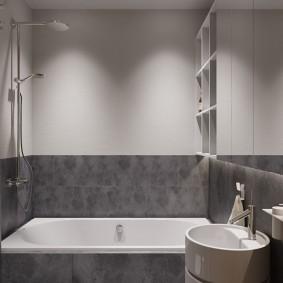 phòng tắm trong nội thất Khrushchev