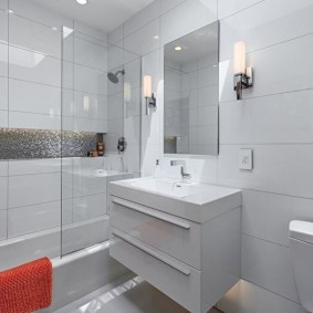 ý tưởng thiết kế phòng tắm ở Khrushchev