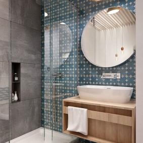 Phòng tắm ở Khrushchev ý tưởng