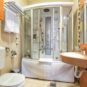 phòng tắm ở Khrushchev ý tưởng ảnh