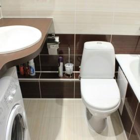 phòng tắm trong thiết kế Khrushchev