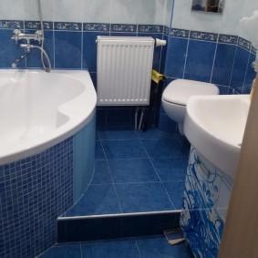 phòng tắm trong thiết kế ảnh Khrushchev