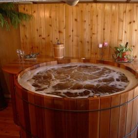 idées de conception de salle de bain de style japonais