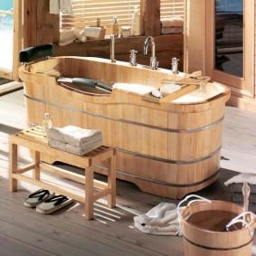 options de salle de bain de style japonais