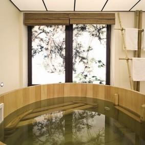 salle de bain de style japonais sortes de photos