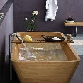 espèce de photo de salle de bain de style japonais