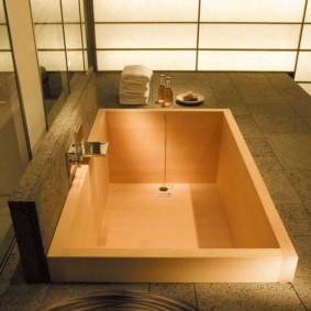 salle de bain de style japonais sortes d'idées