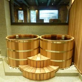 conception de salle de bain de style japonais
