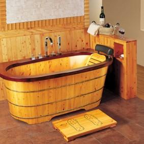 photo de conception de salle de bain de style japonais