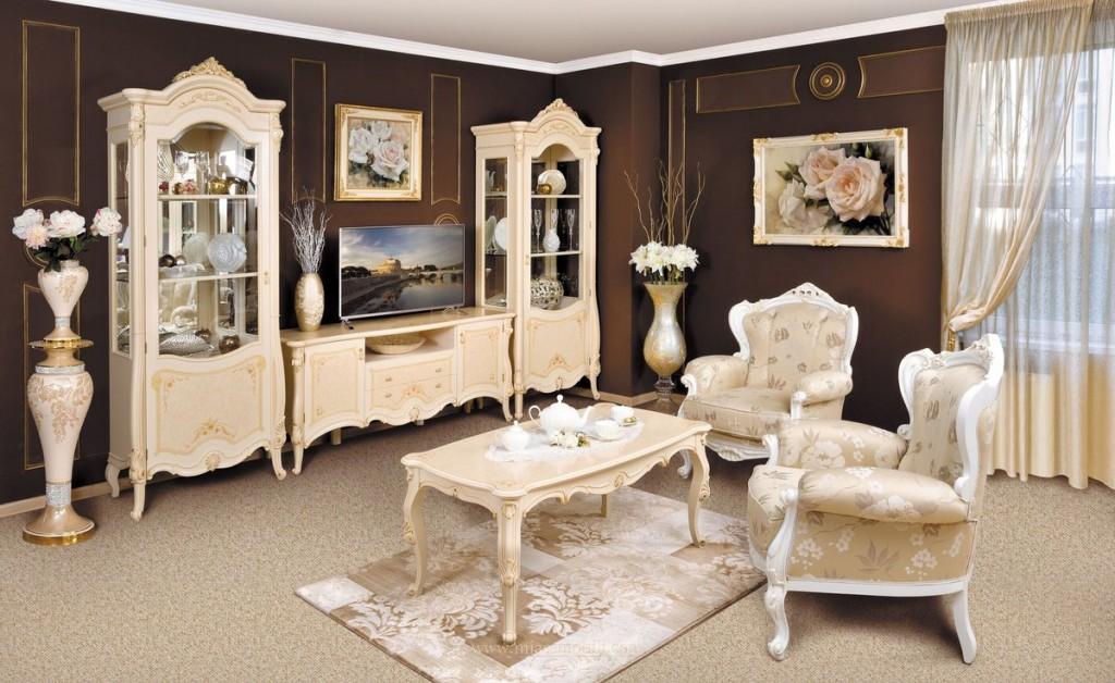 Tủ trưng bày bằng gỗ cho hội trường theo phong cách cổ điển
